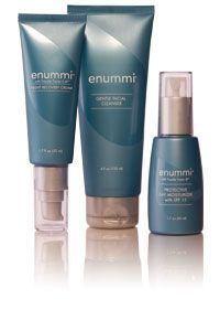 enummi® Men's Skin Care Essentials. ave great skin at any age in just five minutes a day. #enummiSkinCare products are the only complete skin care line that includes #4LifeTransferFactor. The pack includes enummi® Gentle Facial Cleanser, >enummi® Protective Day Moisturizer, enummi® Night Recovery Cream. Gently cleanses to help maintain fresh, younger-looking skin. Provides hydration and creates a moisture barrier. e-mail: ileana.cintron@gmail.com for more info or click the picture.