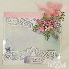 Heartfelt Creations - Lilac Birthday Wishes Project