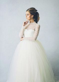 Our Favourite Long Sleeve Wedding Dresses | See them all on www.onefabday.com