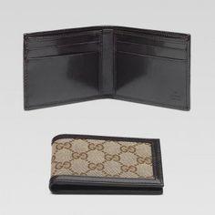 gucci 138042 fci2r 9791 bi fold geldb rse mit unterschrift. Black Bedroom Furniture Sets. Home Design Ideas