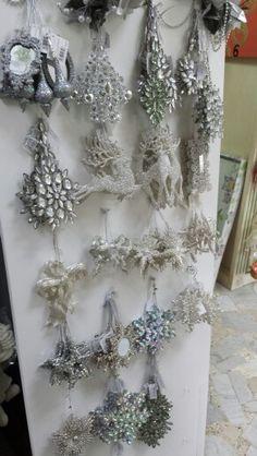 addobbi argento per albero
