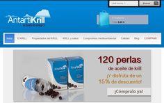 AntartiKrill, tu fuente de Omega3. El aceite de krill es el método más rápido y efectivo para el control de tu colesterol. Disfruta de nuestros bajos precios, descuentos y envío gratuito a España peninsular Web: http://www.antartikrill.com/