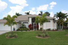Direct Gulf access pool home in Secluded SW Cape Cape Coral Florida, Vacation Rentals, Autumn Summer, Villa, Homes, Star, Mansions, Future, House Styles