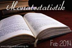 Silke' s Bücherblog: Monatsstatistik Feb 2014 --- www.silkes-buecherblog.de