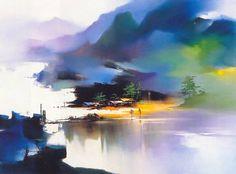 'Peaceful Village' by Hong Leung