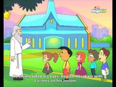Best Bible stories for kids - The Rich Man & The Beggar - Best Animated Stories