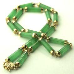 Jade Jewelry | Green Jade Necklace