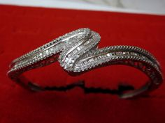 IJ  SI 0.29 cttw Round-Cut-Diamond 18K Yellow Gold 8.25 inches bangle-bracelets Size