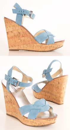 Michael Korrs Wedge Heels <3 I have the perfect outfit for these