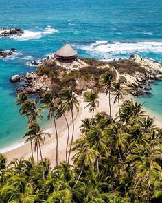 Colombia: The beaches! The architecture! The waterfalls! San Juan Beach, Cool Places To Visit, Places To Go, Santa Marta, Most Beautiful Beaches, Sierra Nevada, Latina, National Parks, Instagram