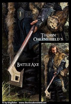 """But Thorin set out from Bag End with not only this axe, but also his dwarven sword """"Deathless"""", which he used before the coming of the dragon Smaug (TA 2770), and through the battle of Azanulbizar (TA 2799), during which he used it to dis-arm (literally) the Pale Orc Azog."""