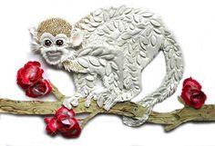 Rebecca Hossack Gallery: Karen Nicol Sweetie Pie, 2013 Silk and embroidery in ornate gold frame 95 x 81 x 4cm