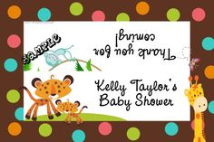 Zoo Fisher Price Candy Bag Labels