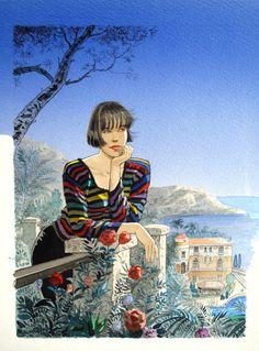 Œuvre originale par Jean-Pierre Gibrat dans la catégorie Illustrations