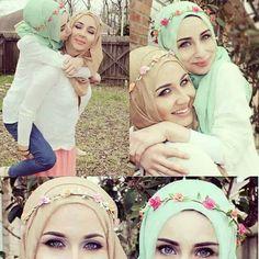 cute hijab looks, Pintrest: ✴lacoxx✴ Hijab Niqab, Mode Hijab, Hijab Outfit, Street Hijab Fashion, Muslim Fashion, Modest Fashion, Women's Fashion, Muslim Girls, Muslim Women