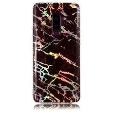 Coque Samsung Galaxy S9 Plus Marbre Premium - Noir