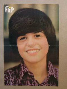 Donny Osmond Donny Osmond, Marie Osmond, All Kinds Of Everything, Osmond Family, The Osmonds, Great Smiles, Favorite Person, Puppy Love, Boy Bands