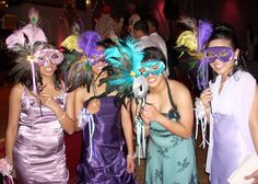 Sweet Sixteen Masquerade Ball Theme