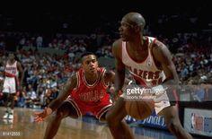 Fotografia de notícias : NBA finals, Portland Trail Blazers Terry Porter...