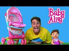 My New Baby Alive Stroller !  || Toy Review || Konas2002 - WATCH VIDEO HERE -> http://babystrollerphilippines.com/my-new-baby-alive-stroller-toy-review-konas2002/   The mean mom's at the park were making fun of my stroller so I got my Baby Alive a Doll Travel System Stroller to show off! For more awesome toys and toy unboxing SUBSCRIBE ► Click here for some of my best toy reviews and toy unboxing videos! ► I also do sketch comedy, click here if you want to ...  Baby S