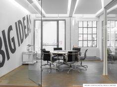 Gärtner Internationale Möbel #Projekt #Kontor Digital Media #Hamburg #Office #USM #Vitra