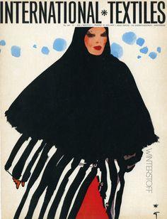 International Textiles (1976) by René Gruau