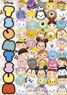 Tsum Tsum Wallpaper, Mickey Mouse Wallpaper, Cute Disney Wallpaper, Tsum Tsum Party, Disney Tsum Tsum, Cute Wallpapers, Wallpaper Backgrounds, Iphone Wallpaper, Disney Collage