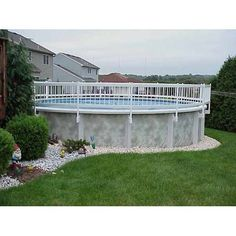 Above Ground Swimming Pool fence - Swimming Pool safety equipment http://www.intheswim.com/p/resin-above-ground-pool-fence-kits-24-inch-