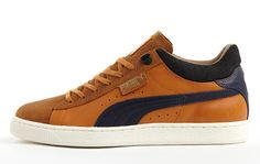 Puma 'Macht's Mit Qualitat' Stepper Classic Series Puma Sneakers Shoes, Pumas Shoes, Men's Shoes, Guy Shoes, Mens Boots Fashion, Sneakers Fashion, Stepper, Walker Shoes, Puma Mens