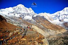 Annapurna Base Camp à Annapurna Base Camp, Western Region