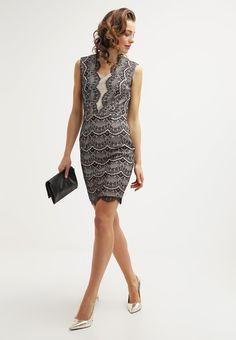 2b17c06210ff Köp Miss Parisienne Jerseyklänning - black nude för 949