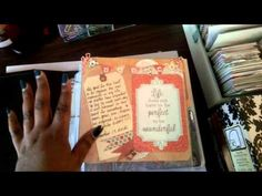 ▶ Pocket Page Scrapbooking (past&future) - YouTube