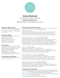 Great Examples Of Creative Cv Resume Design  Creative Cv