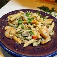 Peppered Shrimp Alfredo - Allrecipes.com