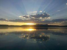 Sunset at Heron Lake in NM