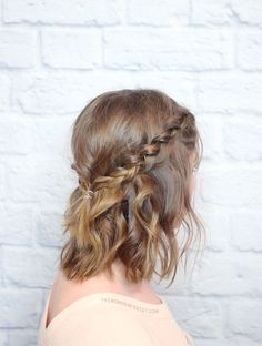 Short hair hairstyles - more braids to try