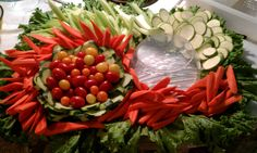 So, recently, I posted about making a small vegetable tray for snacking on the weekend. Here is a large Vegetable Tray, one which I made for a friend's wedding. I have to say, I have arranged Veget...