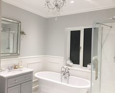 Small Bathroom, Bathroom Ideas, Bathroom Paneling, Bathroom Color Schemes, Cottage Renovation, Bathroom Interior Design, Beautiful Bathrooms, Bathroom Inspiration, Downstairs Loo