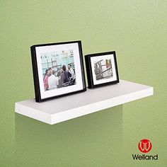 WELLAND 1134 Depth Grande Floating Wall Shelf Deeper Than Others Approx 3512 Off White *** Want to know more, click on the image.