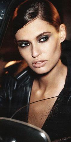 Glamour Girls...Bianca Balti - beauty and make-up...beauty and cosmetics (makeup)