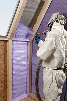 23 best spray foam roofing images on pinterest foam roofing roof spray foam wikipedia the free encyclopedia solutioingenieria Image collections