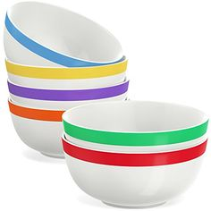 f1d44520fd00a ... Plates and more! 6 KITCHEN BOWLS - Nest these 6 kitchen bowls in your  cabinet to use during family