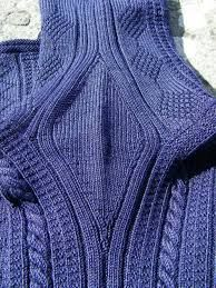 Gansey Sweater History: Underarm gussets instead of set-in sleeves. Elegant solution to a problem of free and easy movement I would think.