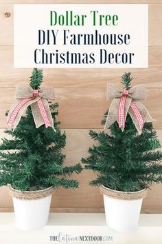 Looking for for inspiration for farmhouse christmas tree? Browse around this website for unique farmhouse christmas tree ideas. This amazing farmhouse christmas tree ideas appears to be absolutely wonderful. Dollar Tree Christmas, Dollar Tree Crafts, Christmas Tree Decorations, Christmas Wreaths, Diy Christmas Centerpieces, Christmas Lights, Diy Christmas Tree Topper, Tiny Christmas Trees, Burlap Christmas Tree