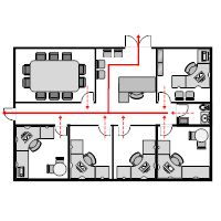 Building  Second Floor Elevator Plan  Emergency Planning