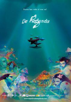"""Aprovechando que hoy se celebra el """"Día de la Ilustración"""" desde la #fonoteca queremos recomendaros """"De profundis"""" [791 DEP(1-2) (c)], la película de animación creada por el famoso ilustrador gallego Miguelanxo Prado. La película prescinde de la palabra y se apoya en la música de Nani García para contarnos la historia de una mujer que vivía en una casa en el medio del mar, y que tocando el violonchelo esperaba la vuelta de su amado, un pintor que siempre quiso navegar. #bdrecomienda"""