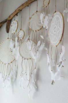 dream catcher hanger :) LOVE this for a house