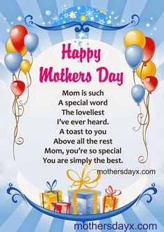 Mothers day poem with forever bouquet | For Kids | Pinterest ...