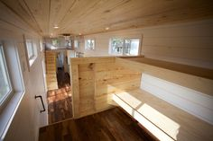 NOMAD tiny homes ///  A 42 foot gooseneck tiny home for a family of five.  www.nomadtinyhomes.com