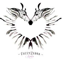 via the Fuzzy Zebra Time Tattoos, Body Art Tattoos, Tatoos, Zebra Print Tattoos, Zebra Drawing, Designer Kids Wear, Rare Disease, Find Art, Illustrations Posters